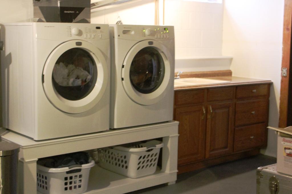washing machine pedestal plans