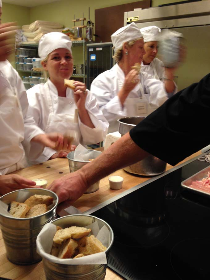 Taking a Break at Milwaukee's Cooking School
