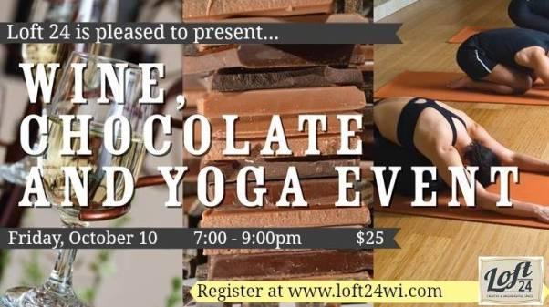 Yoga, Chocolate and Wine Workshop