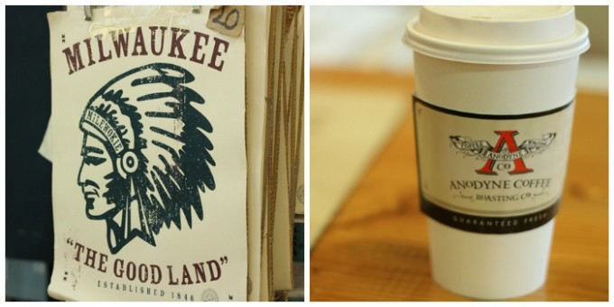 Anodyne Coffee and Merch at the Milwaukee Public Market