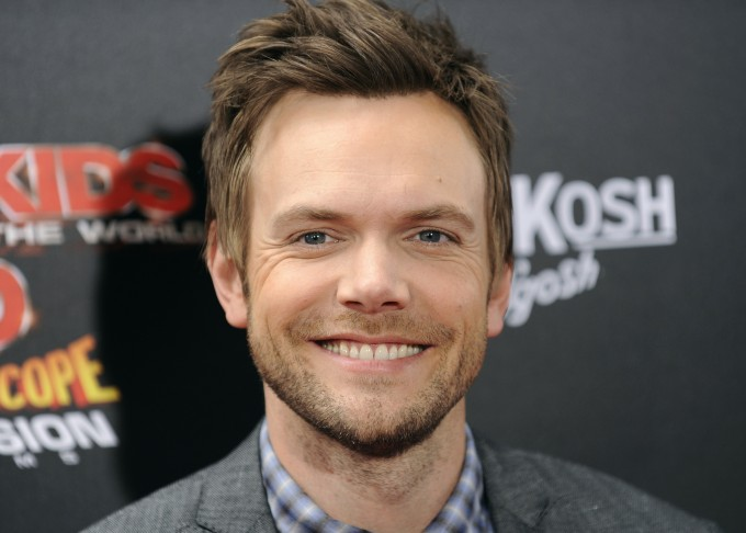 Joel McHale - He ain't bad to look at.